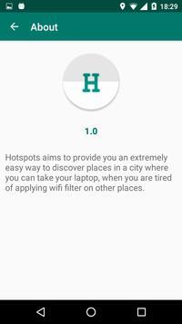Hotspots apk screenshot