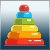 Rainbow Stacker icon