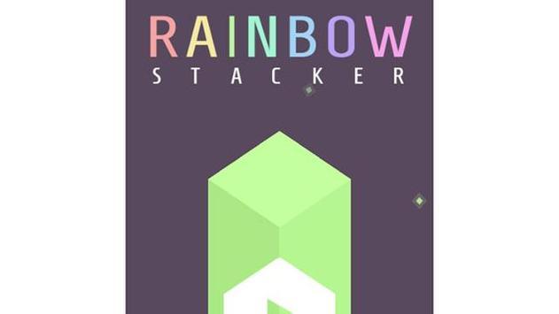 Rainbow Stacker poster