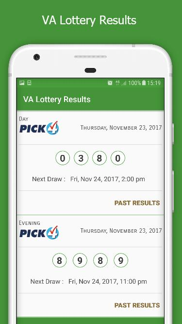 VA Lottery Results for Android - APK Download