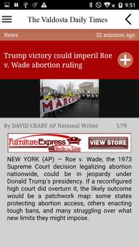 Valdosta Daily Times apk screenshot