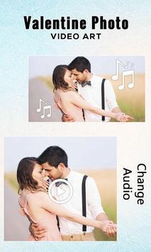 Valentine Photo Video Art apk screenshot