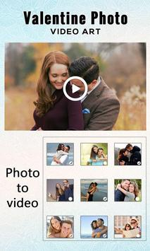 Valentine Photo Video Art poster