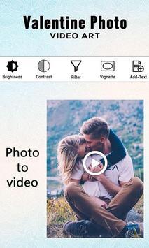 Valentine Photo Video Art screenshot 1