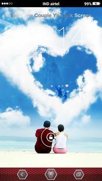 Valentine Couple Yo Locker apk screenshot