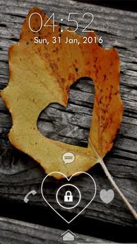 Valentine Lock Screen screenshot 3