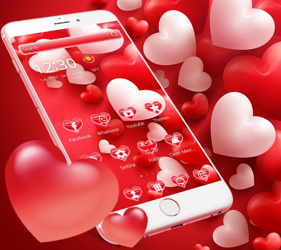 Cute love theme free download | mobilclub. Mobi.