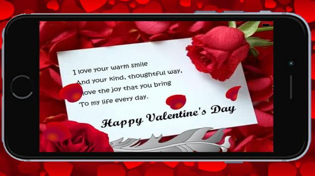 Valentine Greetings Card poster