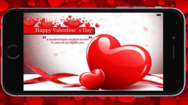 Valentine Greetings Card screenshot 2