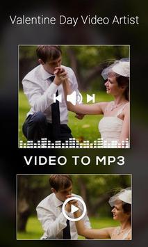 Valentine Day Video Artist apk screenshot