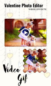 Valentine Photo Editor Video Effects screenshot 12