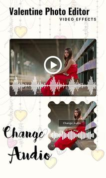 Valentine Photo Editor Video Effects screenshot 6