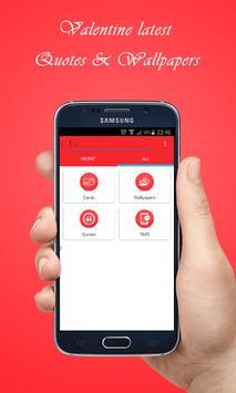 Valentine Day : SMS & Cards apk screenshot