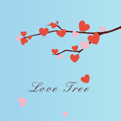Valentine Heart Tree Wallpaper icon