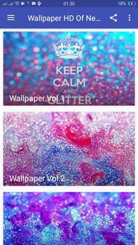 Wallpaper HD Of Neon Gliter 3D screenshot 1