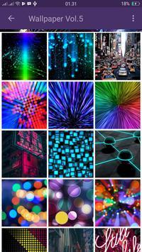 Wallpaper HD Of Neon Gliter 3D screenshot 4