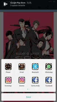 Wallpaper HD Of Super Junior screenshot 5