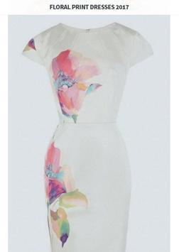Floral Print Dresses 2017 screenshot 5