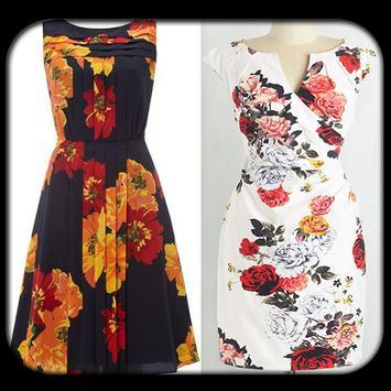 Floral Print Dresses 2017 poster