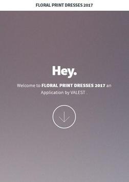 Floral Print Dresses 2017 screenshot 1