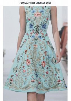 Floral Print Dresses 2017 screenshot 2