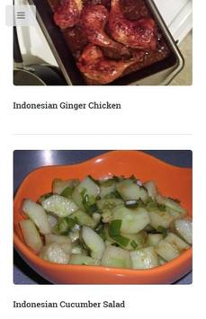 Indonesian Food Recipes apk screenshot