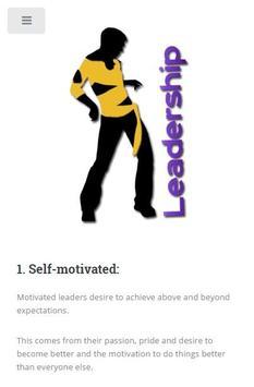 Leadership Skills and Traits screenshot 2