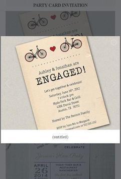 Party Card Invitation apk screenshot