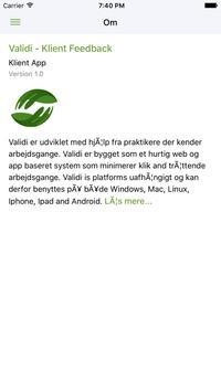 Validi Feedback screenshot 4