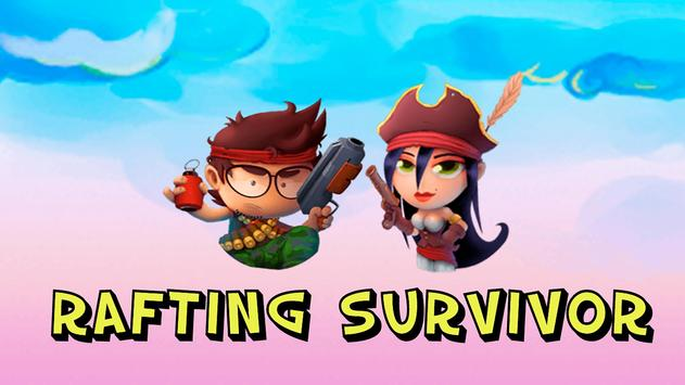 Rafting Survivor – Riptide on Treasure Island poster