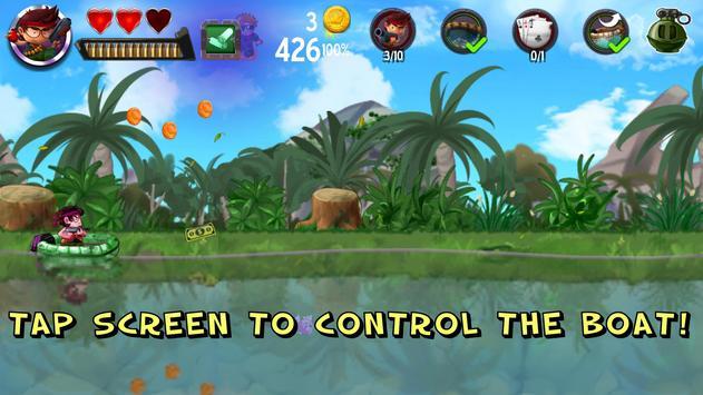 Rafting Survivor – Riptide on Treasure Island screenshot 1