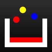 Cromos: meter la bola en el vaso icon