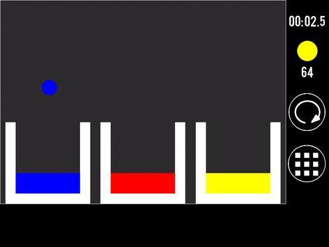 Cromos: meter la bola en el vaso apk screenshot