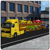 Car Parking Truck Transporter icon