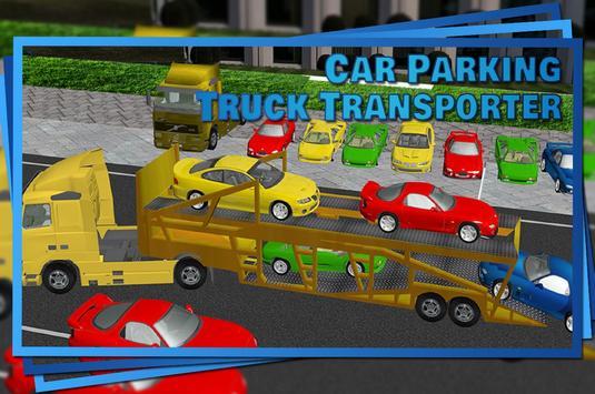 Car Parking Truck Transporter apk screenshot