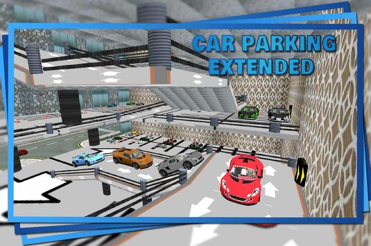 Car Parking Truck Transporter poster