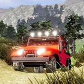 New Challenge Jeep Hill Drive Simulator Game icon