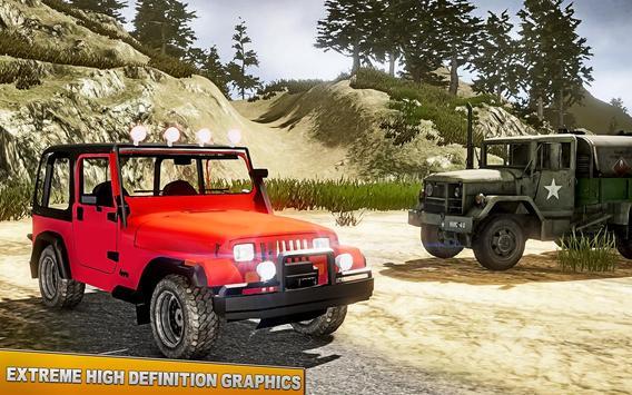 New Challenge Jeep Hill Drive Simulator Game apk screenshot