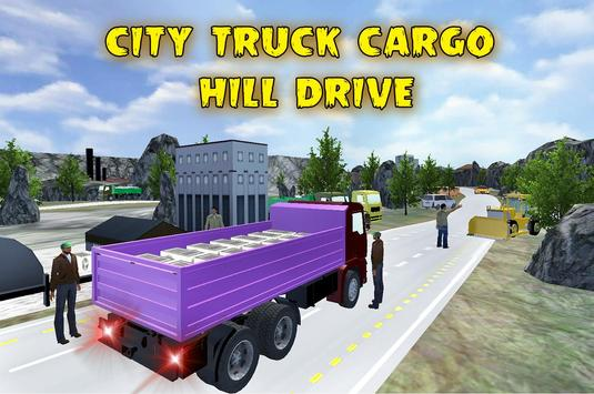 City Truck Cargo Hill Drive poster