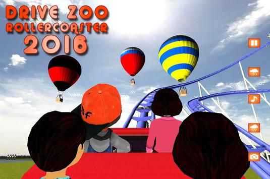 Drive Zoo Roller Coaster 2016 apk screenshot
