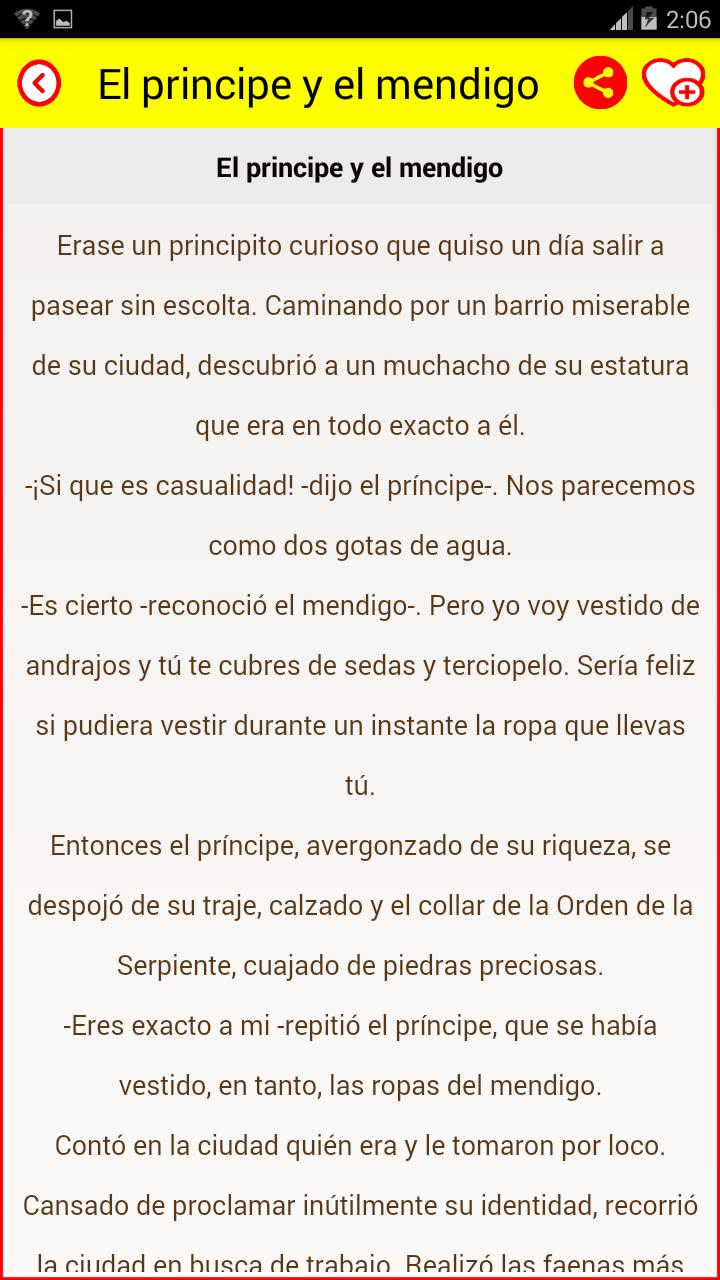 Spanish Short Stories Book for Android - APK Download