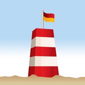 Strandvejr fra Trygfonden icon