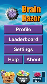 Brain Razor Brain Training apk screenshot