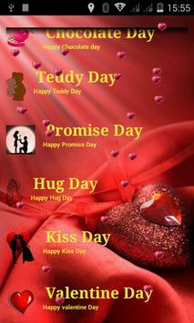 Valentine's Week 2015 apk screenshot
