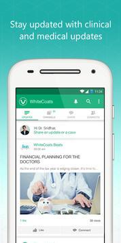 WhiteCoats-Doctors Medical App poster