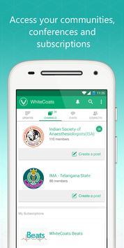 WhiteCoats-Doctors Medical App apk screenshot