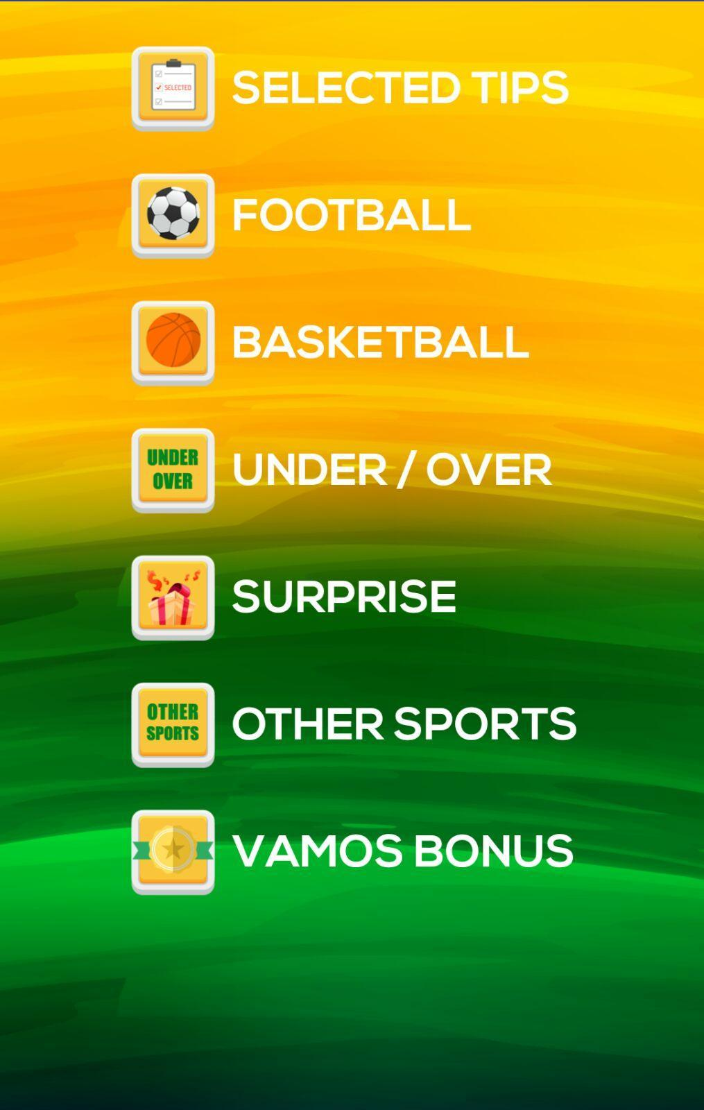 Vamos betting app