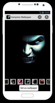 Vampires Wallpaper poster
