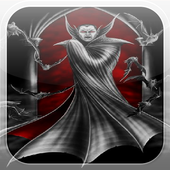 Vampire Blood Fire Flames LWP icon