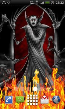 Vampire Blood Fire Flames LWP poster